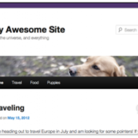 Kopfzeile in WordPress 3.4
