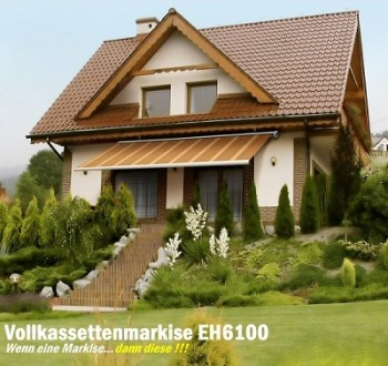 Markise Hausansicht Exclusiv-Home