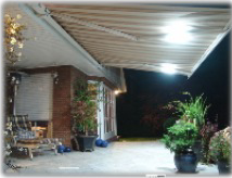 LED-Licht Markise