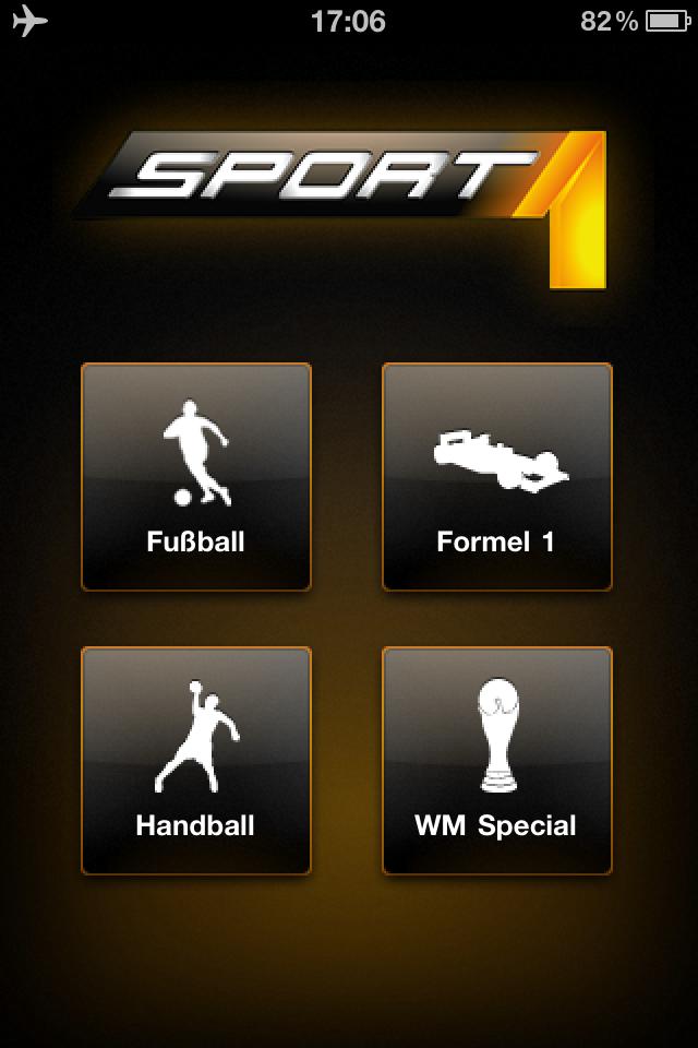 Live Fußball iPhone iPad App Sport 1