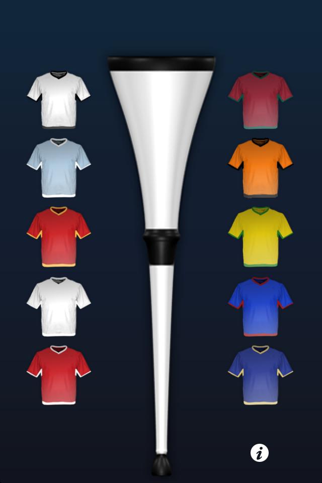 Kostenlose Vuvuzela App iPhone Deutschland