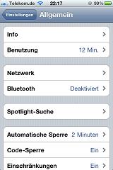 Daten-Roaming beim iPhone ausschalten Schritt 2