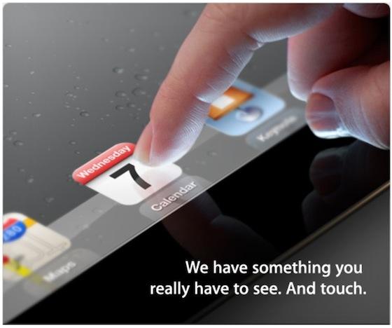 iPad 3 Event Einladung