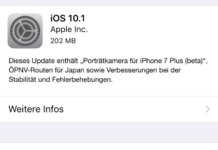 iOS 10.1 Update