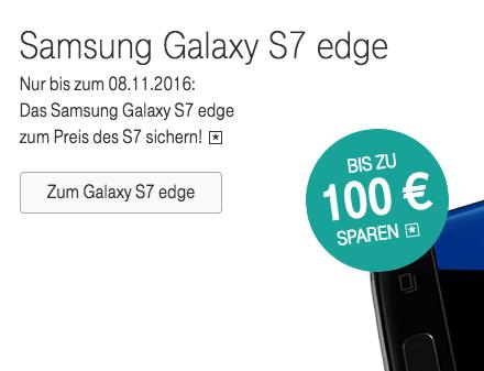 Samsung Galaxy S7 Edge Telekom günstig