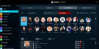 Audials One 2017 Suche Top Künstler