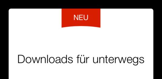 Netflix Download Offline Funktion