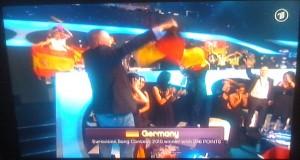 Lena Eurovision Songcontest Siegerin Feier